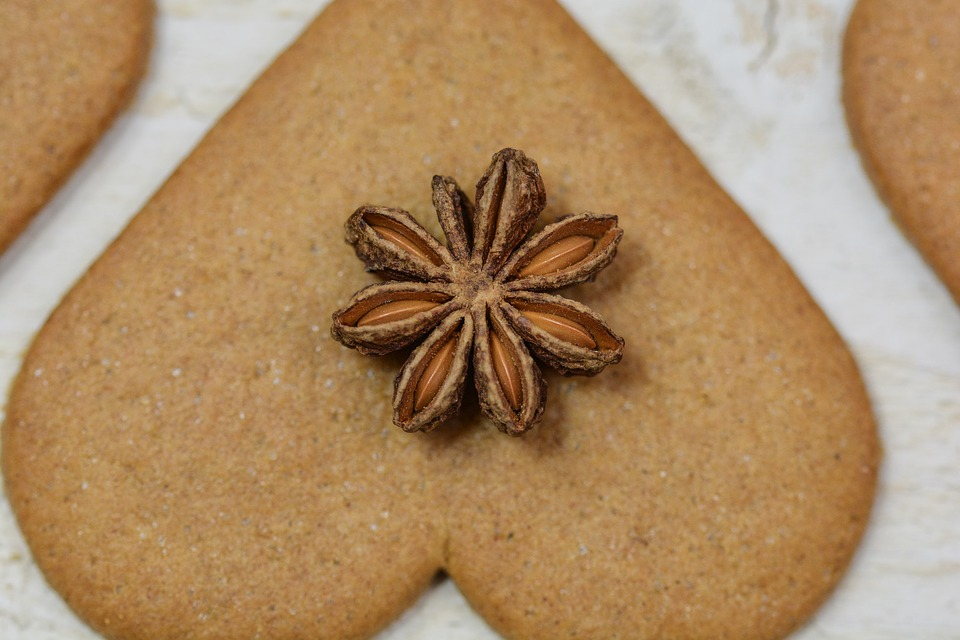 Christmas, Gingerbread, Anise, Decoration, Food
