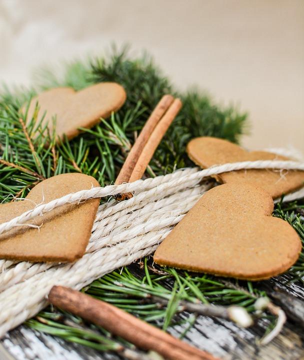 Christmas, Gingerbread, Food, Cinnamon, Cutting Board