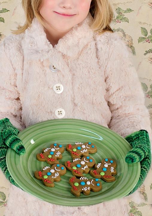 Christmas Cookies, Gingerbread Men, Christmas