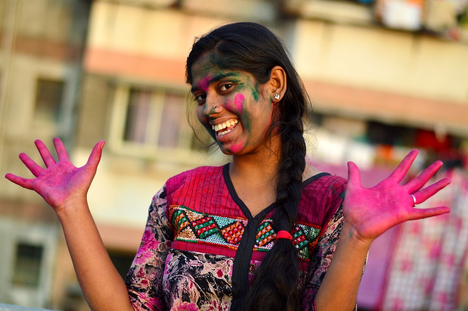 Girl, Indian Girl, Female, Young, Asian, Adult, Face