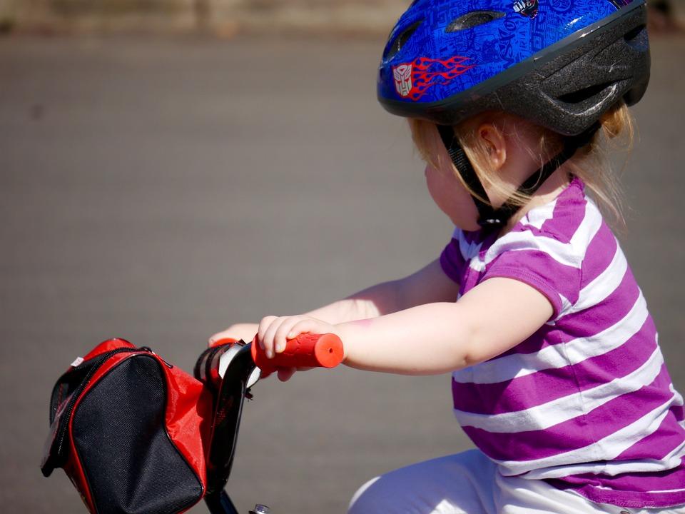 Bike, Childhood, Girl, Child, Happy, Cycle, Ride
