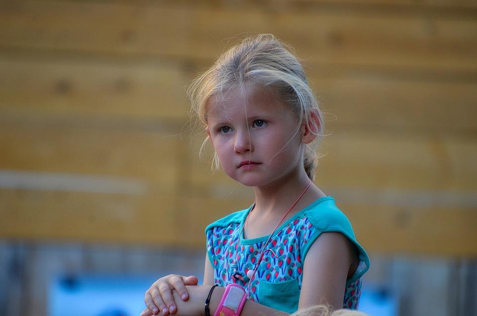 Portrait, Child, Young, Girl, Hair, Children, Childhood