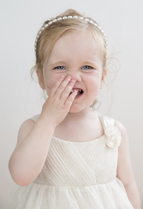 Toddler, Girl, Laugh, Blue Eyes, Cute, Child