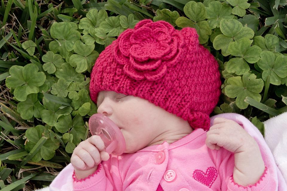 Baby, Girl, Newborn, Pink, Child, Cute, Happy, Infant