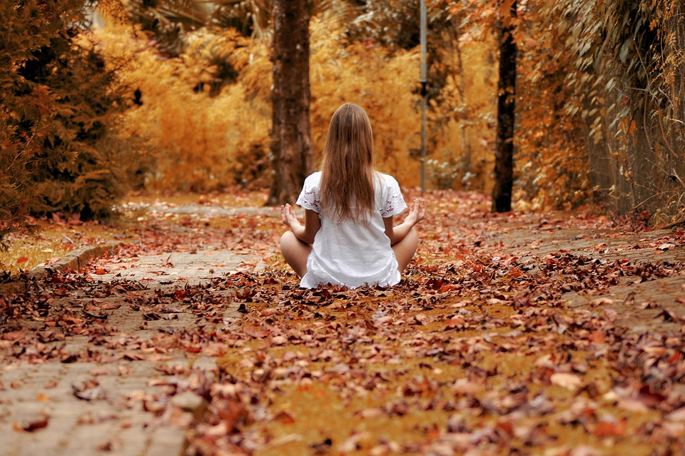 Girl, Forest, Zen, Meditation, Relaxation, Nature