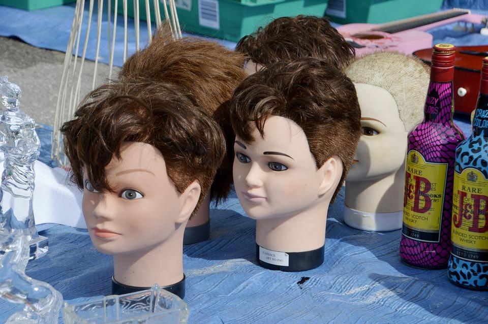 Woman, Girl, Portrait, Hairdresser, Head, Hairstyle