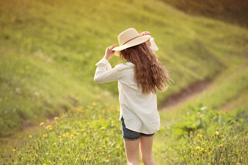 Human, Person, Girl, Hat, Female, Nature, Out