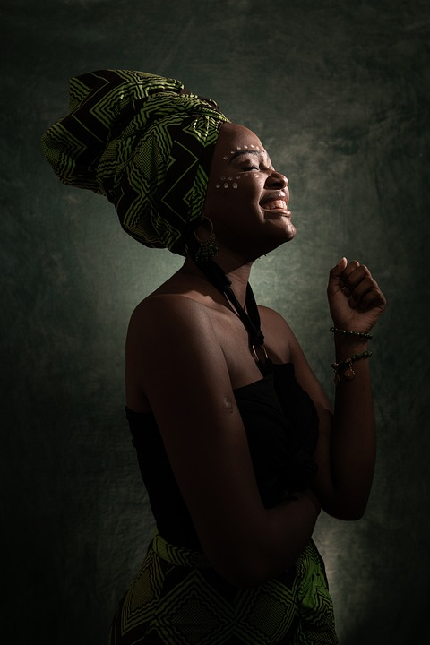 Woman, Afro, Girl, Lady, Portrait, African, Model