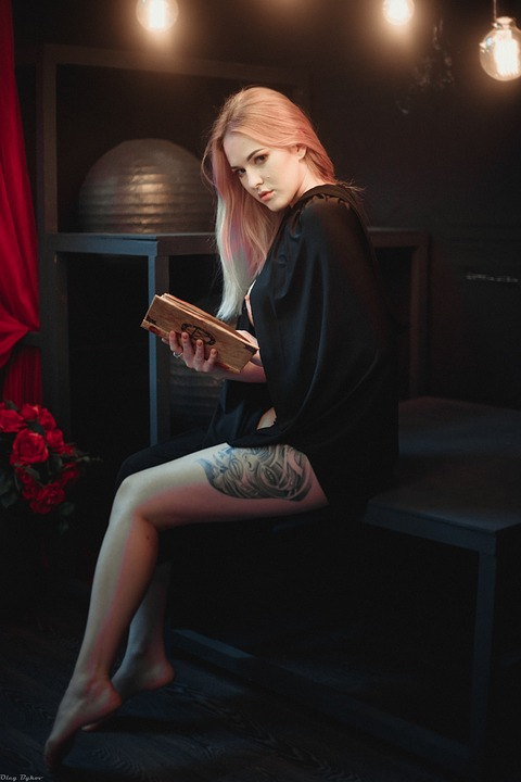People, One, Witch, Girl, Magic, Story, Book