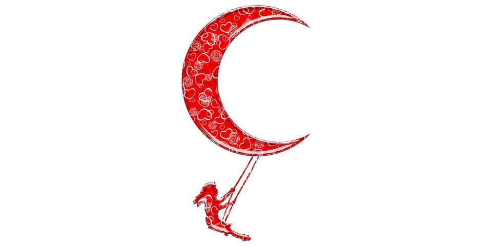 Girl, Crescent, Moon, Muslim, Islam, Mosque, Ramadan
