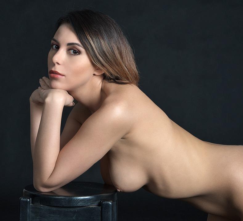 Girl, The Act Of, Woman, Nude, Character, Body, Studio
