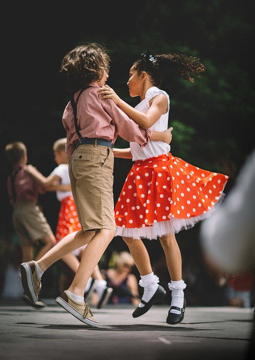 People, Kids, Children, Girl, Boy, Dancing, Performing