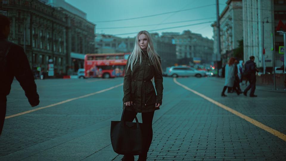 Model, Girl, Bag, Glamour, Showing, Beautiful, Gum