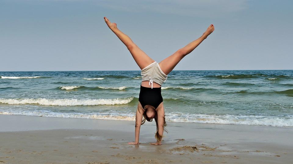 Woman, Girl, Man, Model, Hat, Rock, Sea, Ocean, Summer