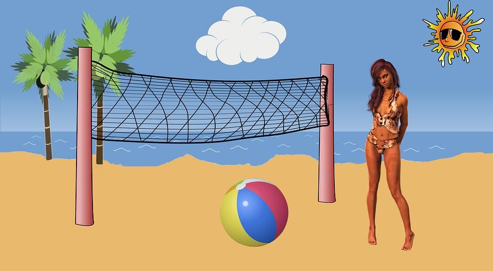 Woman, Beach, Bikini, Summer, Sea, Girl, Ocean, Sun
