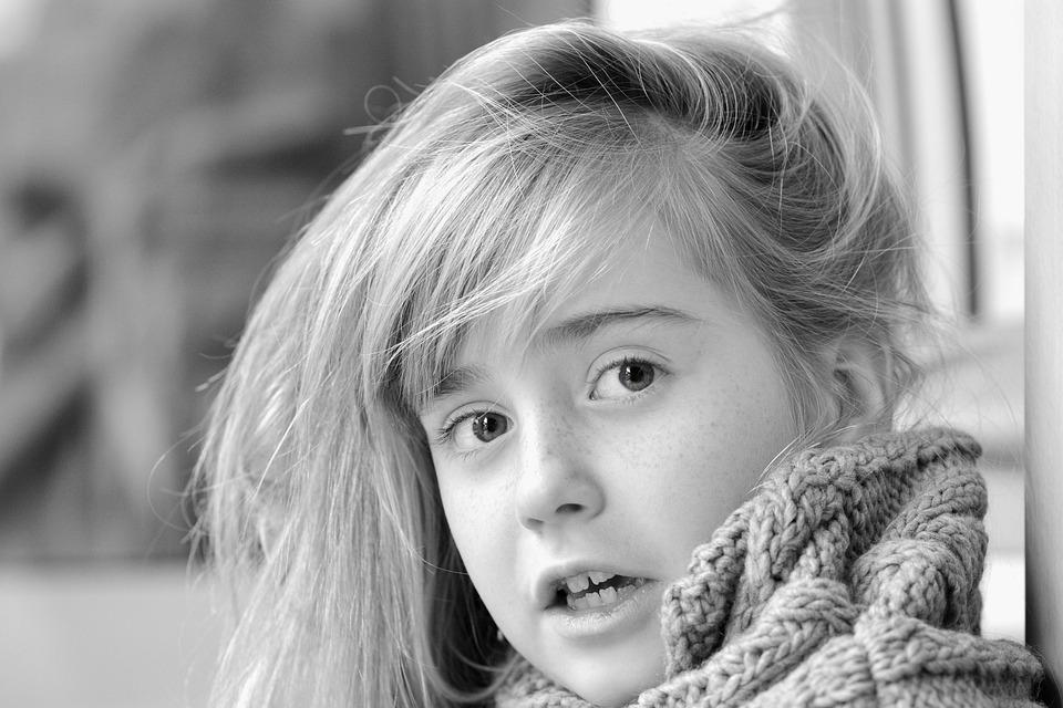 Girl, Child, Face, View, Surprised, Amazed