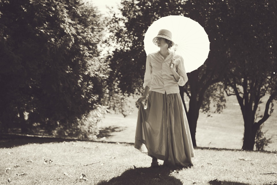 Vintage, Woman, Girl, Lady, Straw, Hat, Straw Hat