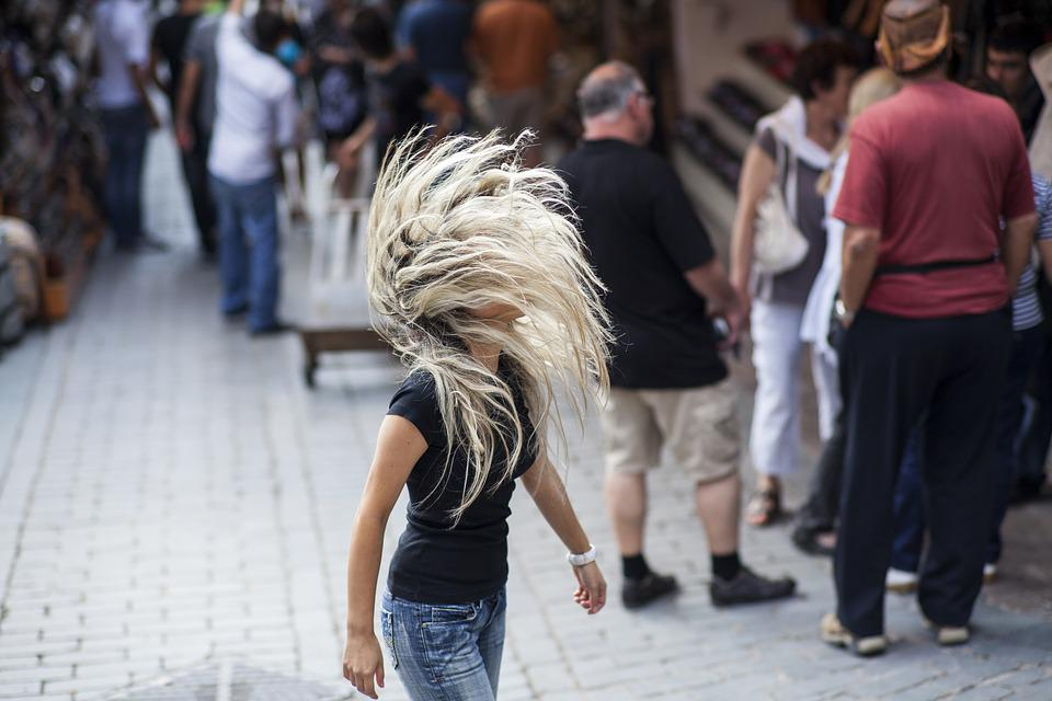 Hair, Woman, Blonde, Long, Street, Fiction, Girl