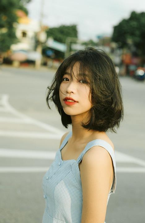 Portrait, Asian, Girl, Model, Woman, Lady, Female