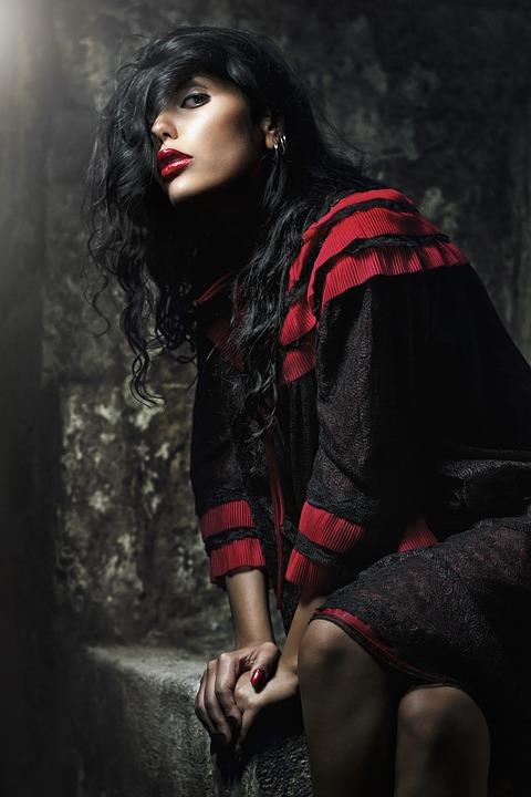 Portrait, Fashion, Mood, Glamour, Woman, Girl, Beauty