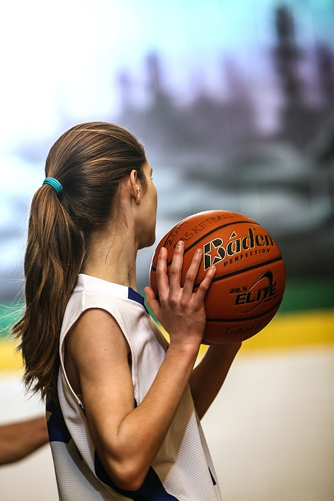 Basketball, Girls Basketball, Female, Teenager, Athlete
