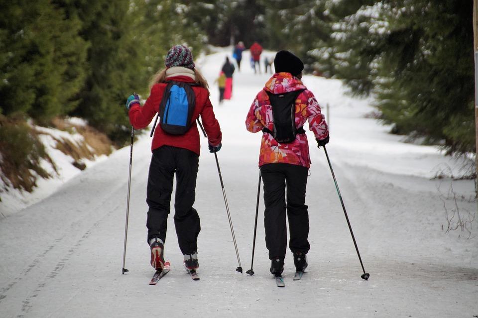 Girls, Cross-country Skiing, Cross-country Skiers