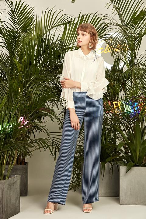 Girls, Green Plants, Models, Lookbook, Hair Style