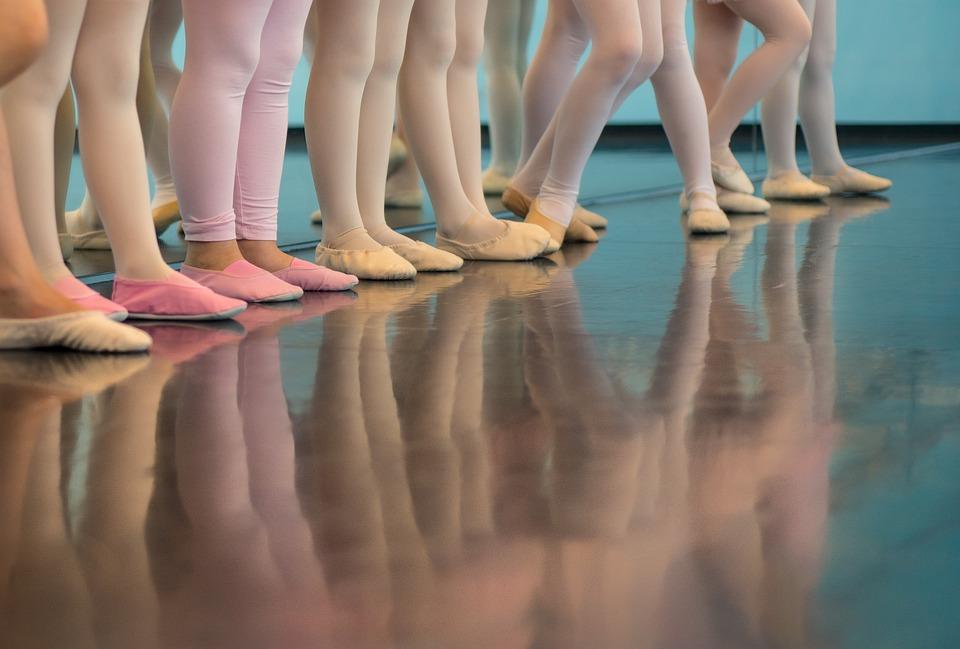 Ballerina, Ballet, Girls, Reflection, Dancer, Young