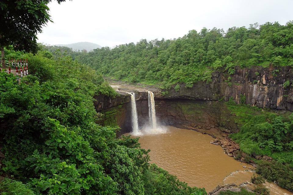 Fall, Waterfall, Girma, Gira River, Scenic, Nature