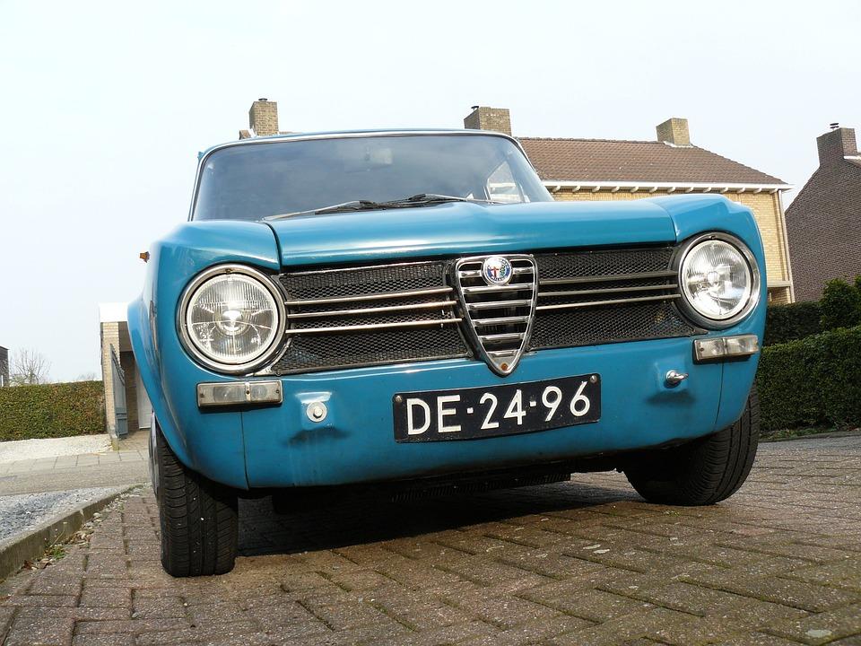 Giulia, Alfa Romeo, Italy, Oldtimer, Sportive