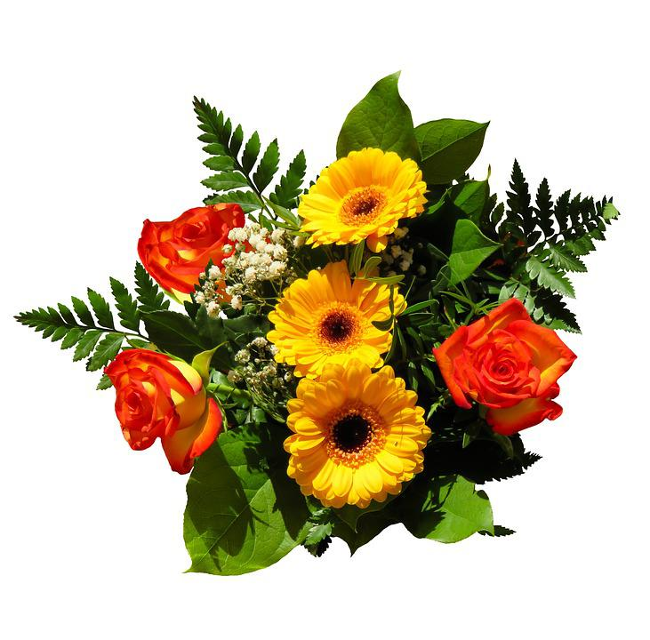 Free photo Give Bouquet Flowers Birthday Bouquet Love Joy - Max Pixel