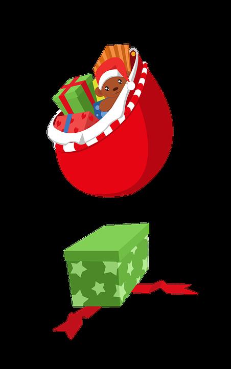 Christmas Gift, Xmas, Giving, Seasonal