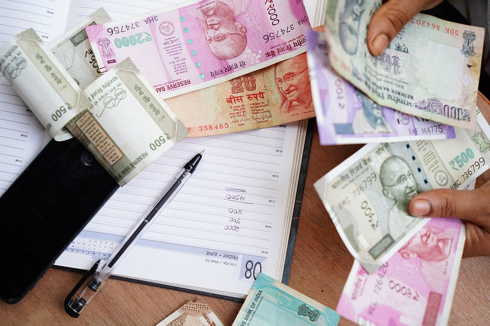 India, Rupee, Occupation, Indian Currency, Giving