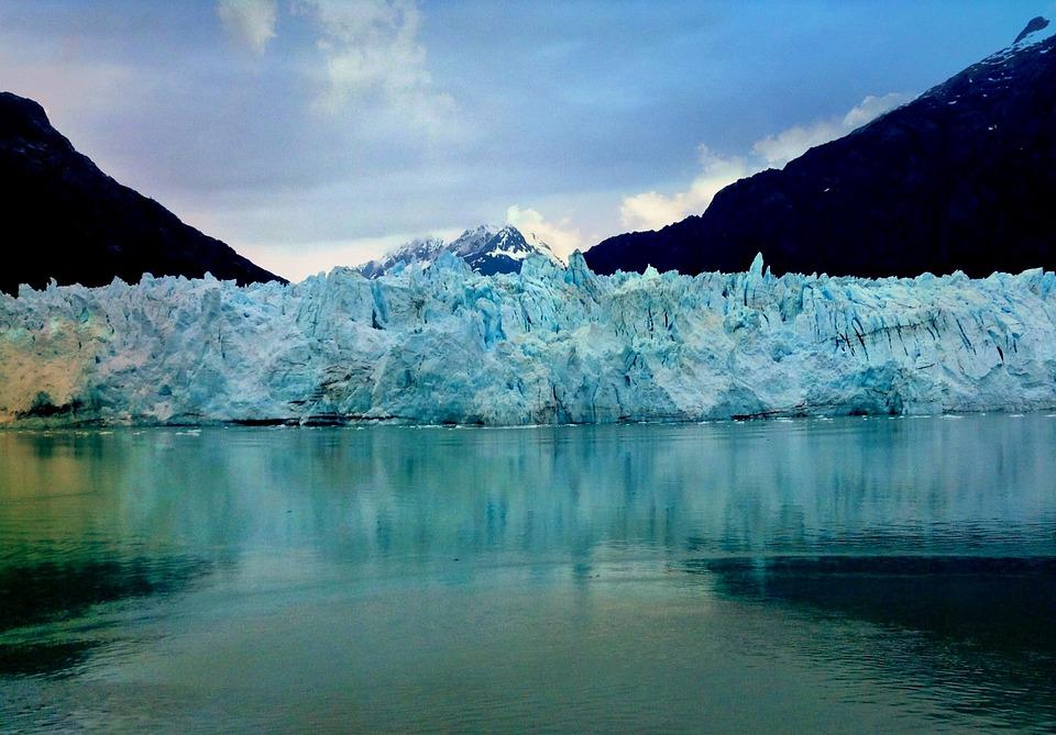 Margerie Glacier, Glacier, Alaska, Blue, National, Park
