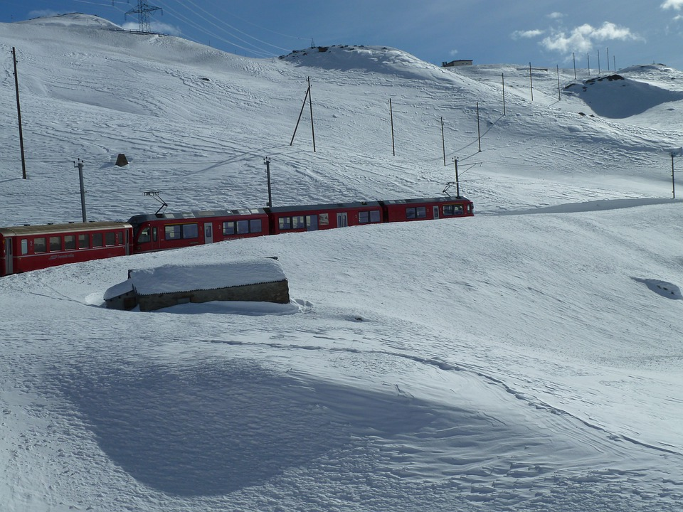 Glacier Express, Graubünden, Switzerland