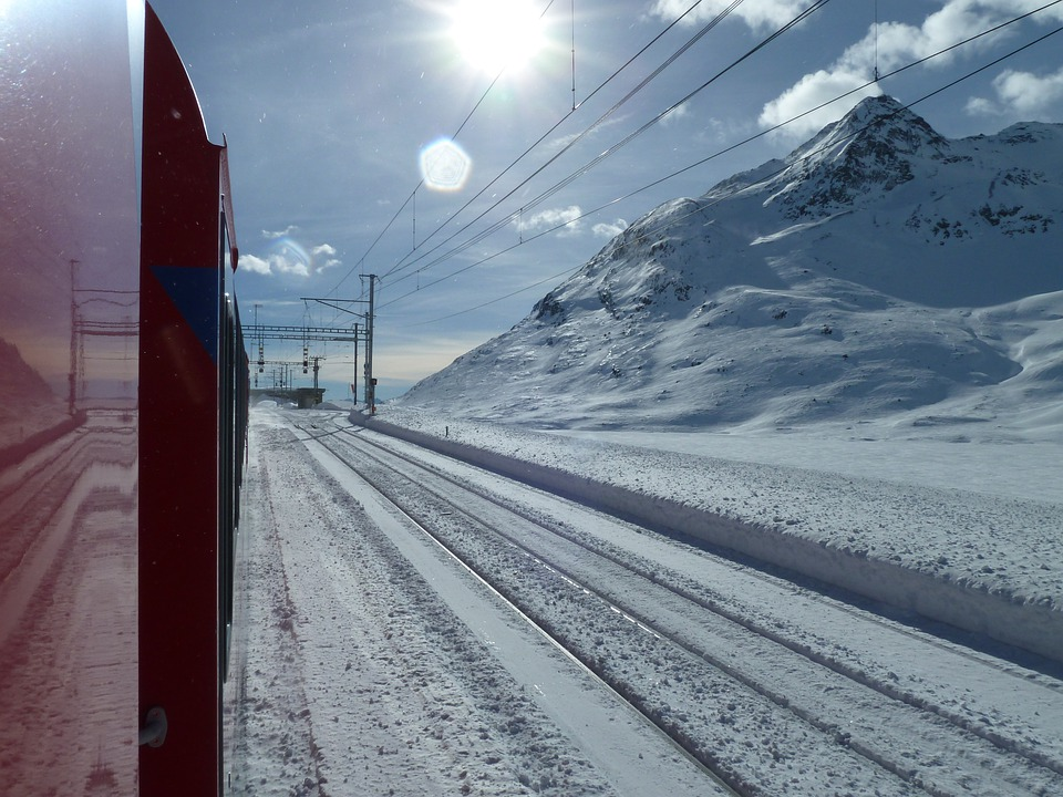 Glacier Express, Graubünden, Switzerland