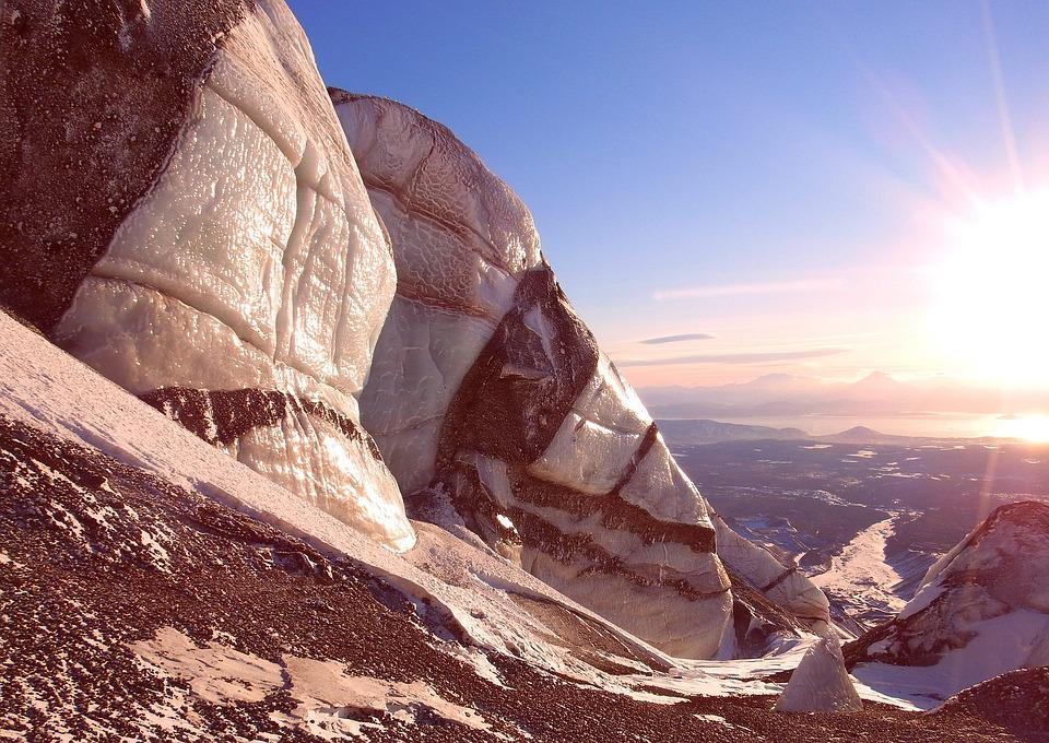 Glacier, Winter, Snow, Frost, Height, Mountains