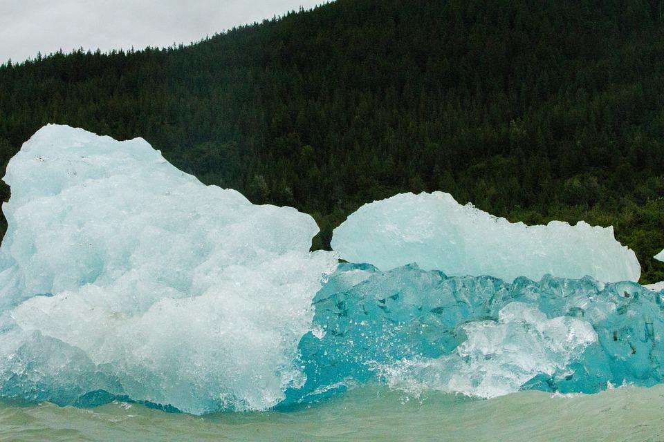 Ice, Glacier, Nature, Water, Blue, Frozen, Cold, Arctic