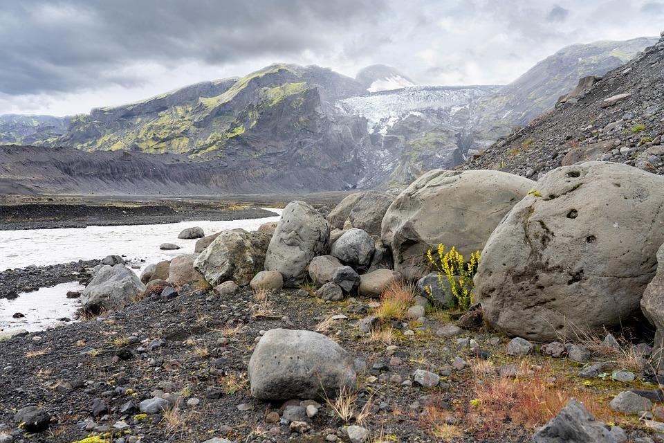 Iceland, Mountains, Landscape, Nature, River, Glacier