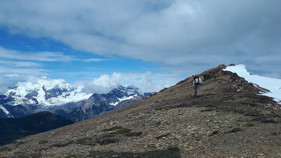 Hiking, Glacier, Mountain, Snow, Alpine, Landscape