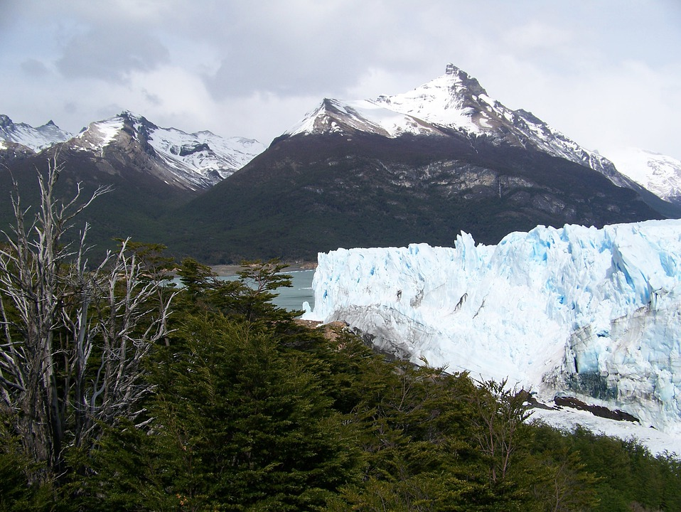 Glacier, Perito Moreno, Argentina, Mountain, Nature