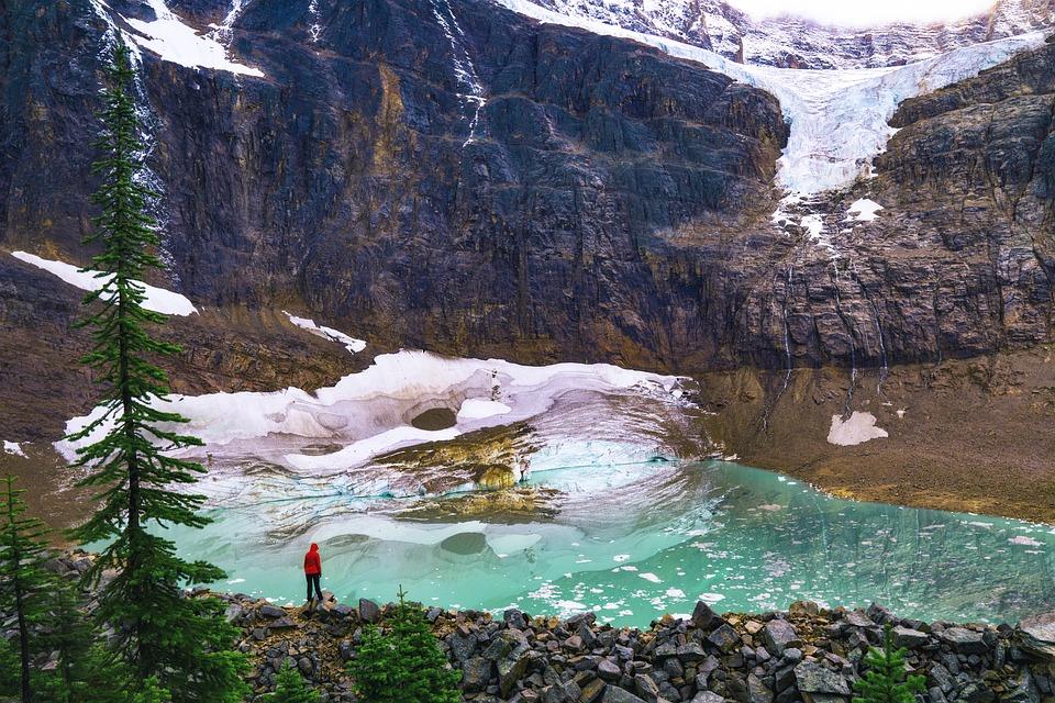 Glacier, Melting, Global Warming, Spring, Snow, Ice
