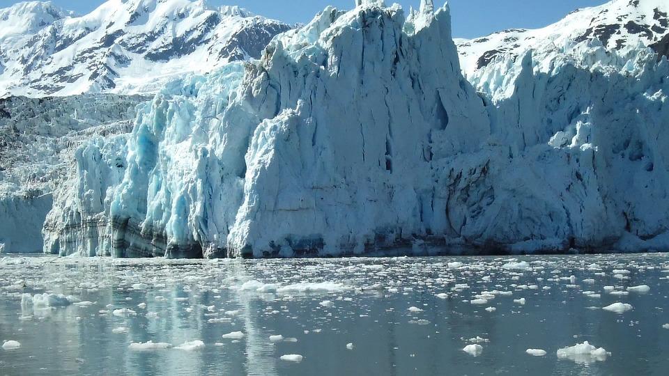 Glacier, Alaska, Surprise Glacier, Nature, Winter, Cold