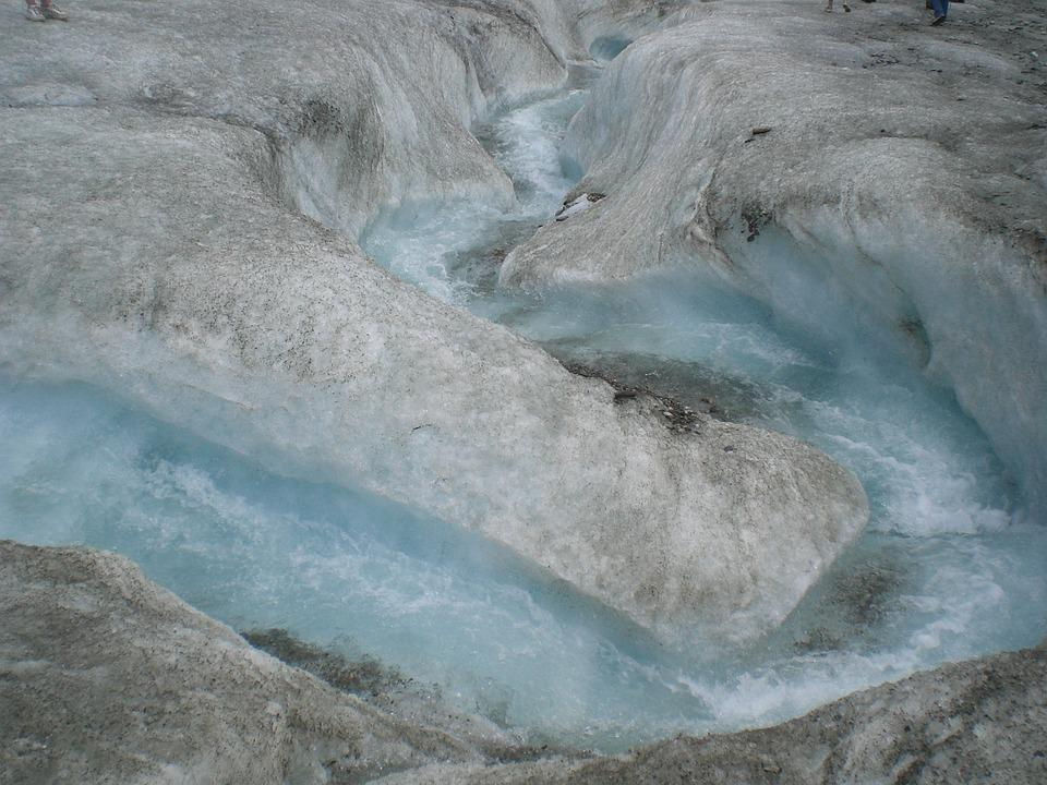 Glacier, Water, Ice, Blue, Cold, Icebergs, Glacial Lake
