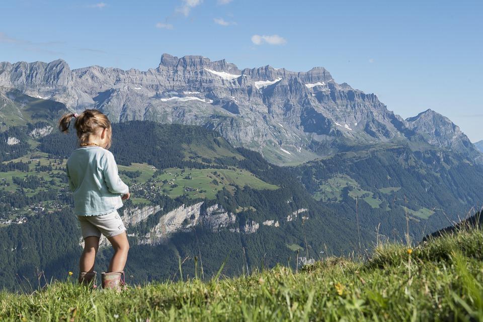 Alp, Canton Of Glarus, Mountains, Glärnisch, Glarus