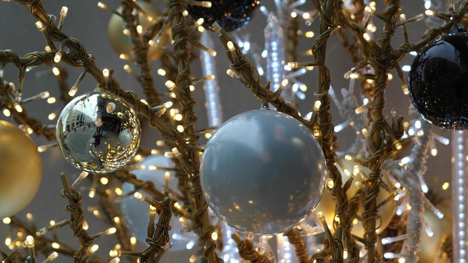 Glaskugeln, Christmas Ornaments, Christmas, Jewellery