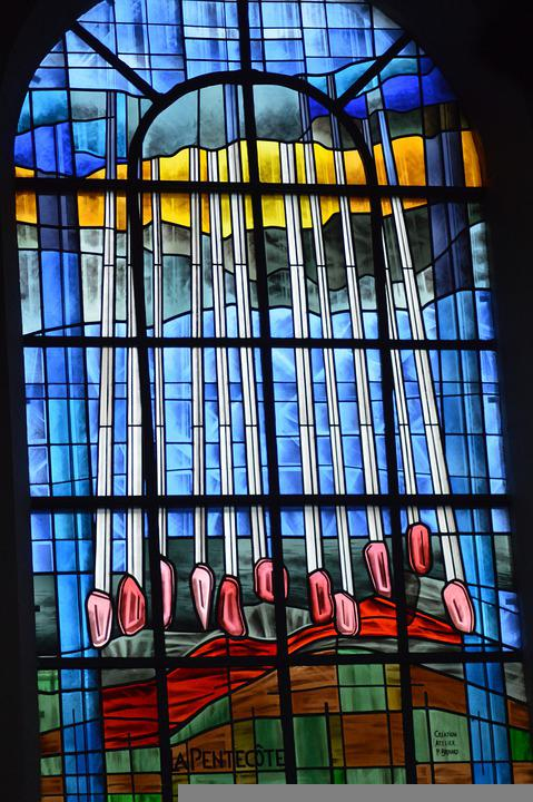 Stained Glass, Art, Church, Window, Glass