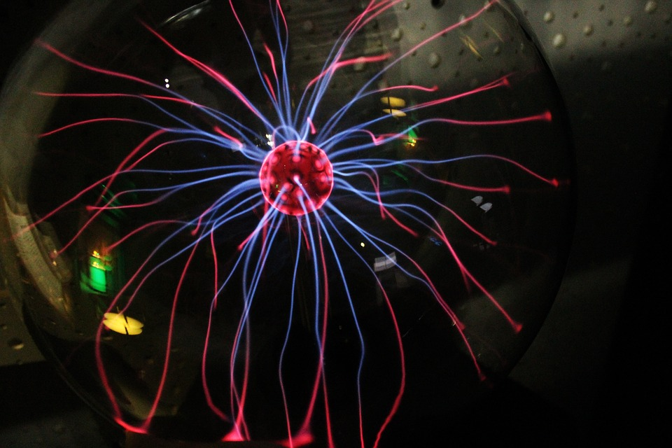 Electricity, Glass Ball, Colors, Magnetic Field