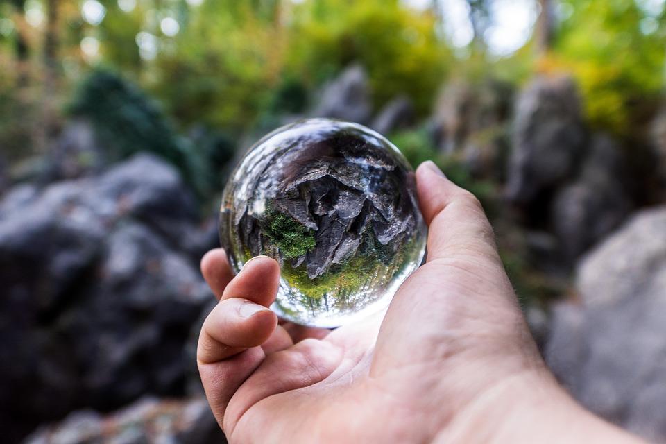 Glass Ball, Art, Light, Decoration, Glass, Mirroring