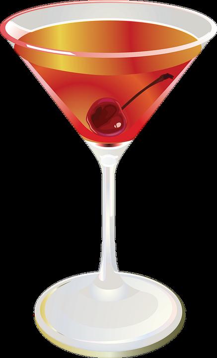 Cocktail, Drink, Glass, Bar, Alcohol, Beverage
